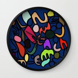 Jungle party Wall Clock