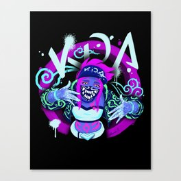 Akali Canvas Print
