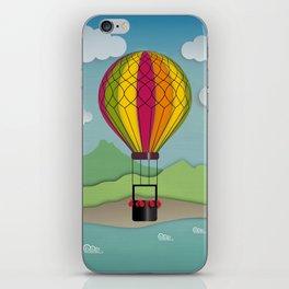Balloon Aeronautics Sea & Sky iPhone Skin