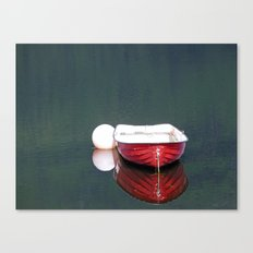 Little Red Boat Canvas Print