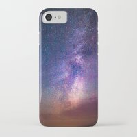 milky way iPhone & iPod Cases featuring Milky Way by Lotus Effects