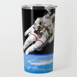 Astronaut Bruce McCandless Floating Free Travel Mug