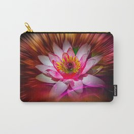 Wellness Water Lily Rose  6 Carry-All Pouch