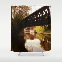 Canal Dreams Shower Curtain
