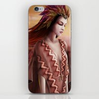 navajo iPhone & iPod Skins featuring Navajo by Nicolas Jamonneau