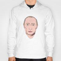 putin Hoodies featuring Putin by Ricardo Miranda Zuniga