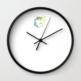 Frustrated Neo Wall Clock
