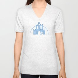 Wrong Castle Unisex V-Neck