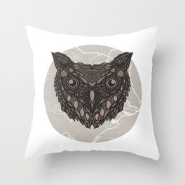 Im not a barn owl but i would like to be Throw Pillow