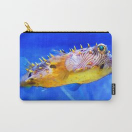 Magic Puffer - Fish Art By Sharon Cummings Carry-All Pouch