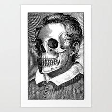 Mr Bones II Art Print