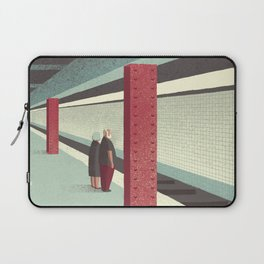 Day Trippers #3 - Waiting Laptop Sleeve