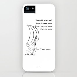 This will never end, Vikings iPhone Case