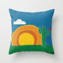 Manhã Throw Pillow