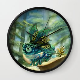 Fumbley Hiccup Wall Clock