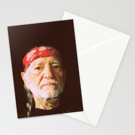 Willie Nelson Stationery Cards