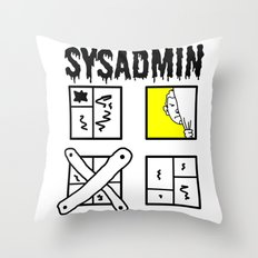 Sysadmin - System Administrator Throw Pillow