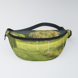Trees At Sunset Fanny Pack