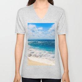 Hookipa Beach Maui Hawaii Unisex V-Neck
