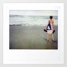 Costa Rica Polaroid #19 Art Print