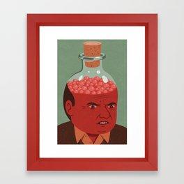 bottle it up Framed Art Print