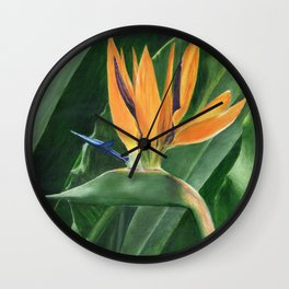 Simply Elegant by Teresa Thompson Wall Clock