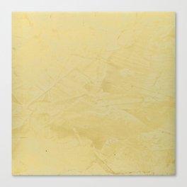 Tuscan Sun Stucco - Faux Finishes - Yellow Venetian Plaster Canvas Print