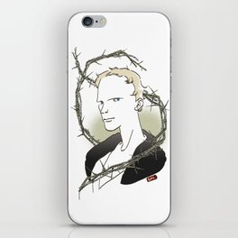 Paul Bettany_geoffrey chaucer iPhone Skin