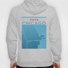 Minimalist Chicago Hoody