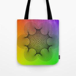 Spirograph Tote Bag