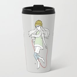 skip and jump Travel Mug