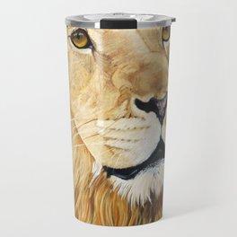 Pantaleon Lion Painting Travel Mug