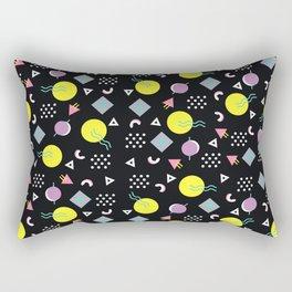 90's geometry Rectangular Pillow