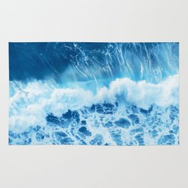 Crashing waves Rug