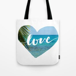 Gotta Love That View - Tropical Paradise Tote Bag