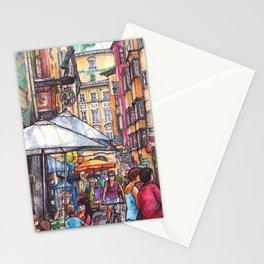 Innsbruck ink & watercolor illustration Stationery Cards