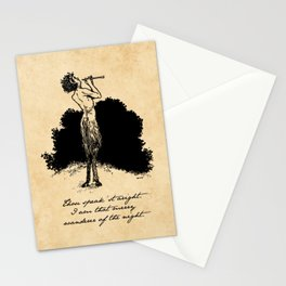 Shakespeare - A Midsummer Night's Dream - Puck Stationery Cards