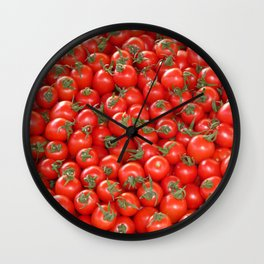 tomatoes Wall Clock