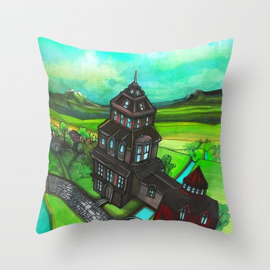 Terra Magica Throw Pillow