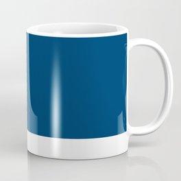 TARDIS Blue Pantone Coffee Mug