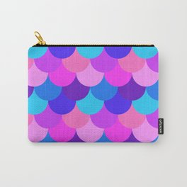 Scalloped Confetti in Electric Orchid Multi Carry-All Pouch
