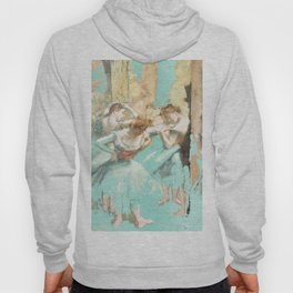 DEGAS DANCERS GOLD AND MINT Hoody