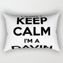 I cant keep calm I am a DAVIN Rectangular Pillow