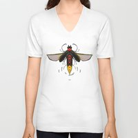 firefly V-neck T-shirts featuring Firefly by Conrad