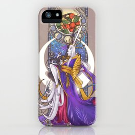 Lunar Repose iPhone Case