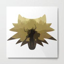 The beast hunt Metal Print