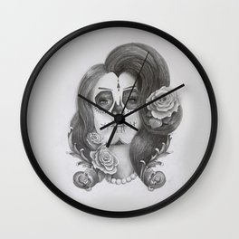 Día de Muertos 1 - the Day of the Dead Wall Clock