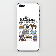 Things Leslie Knope puts Whipped Cream on iPhone & iPod Skin