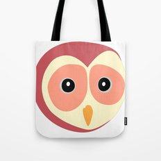 Owl Vermelho Tote Bag