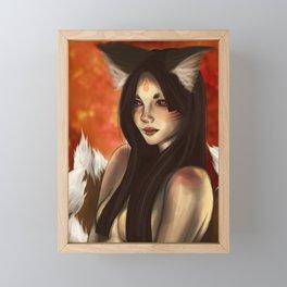 Kitsune: Stage 2 Framed Mini Art Print